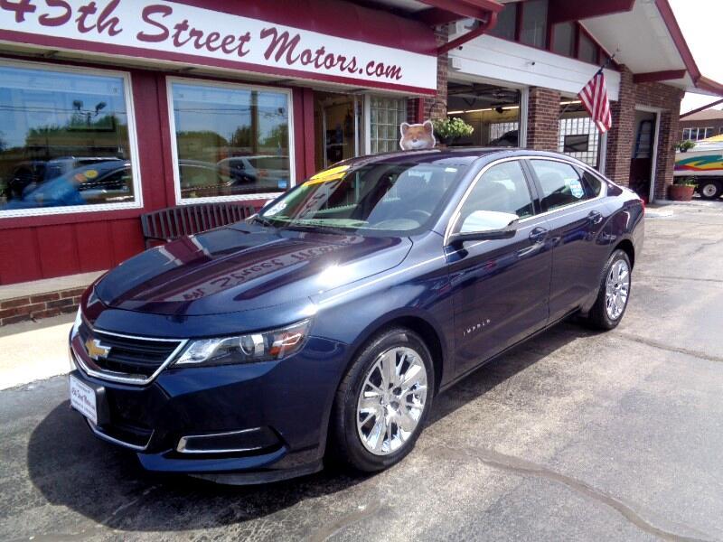 2017 Chevrolet Impala 4dr Sdn LS w/1LS