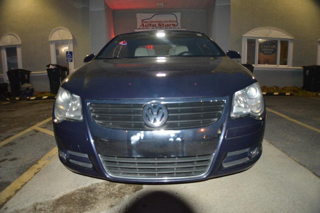2007 Volkswagen Eos 2dr Convertible Manual 2.0T