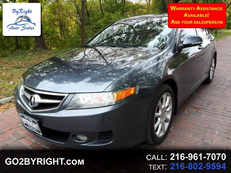 Acura TSX 5-speed AT 2008