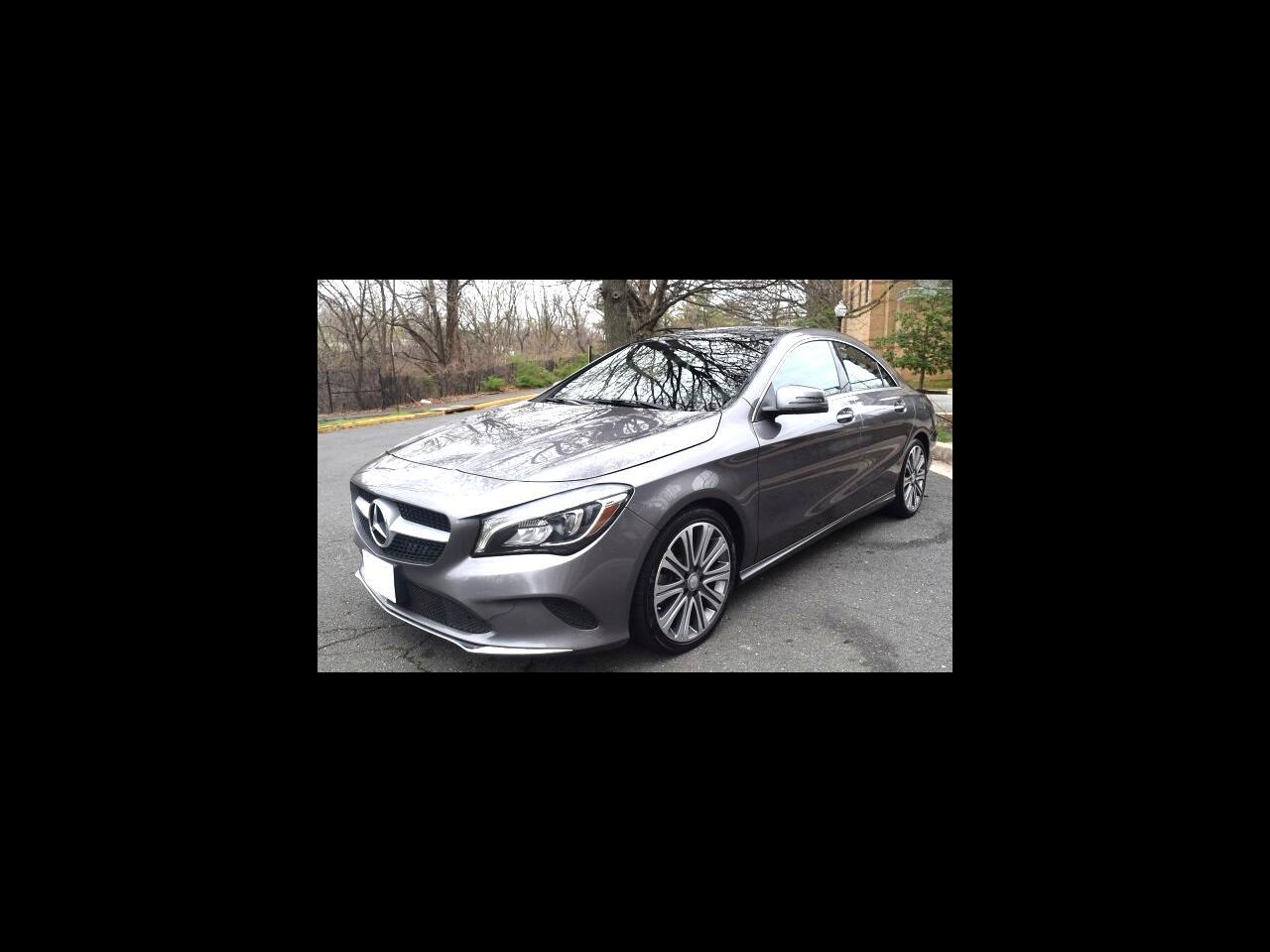 Mercedes-Benz CLA CLA 250 4MATIC Coupe 2018