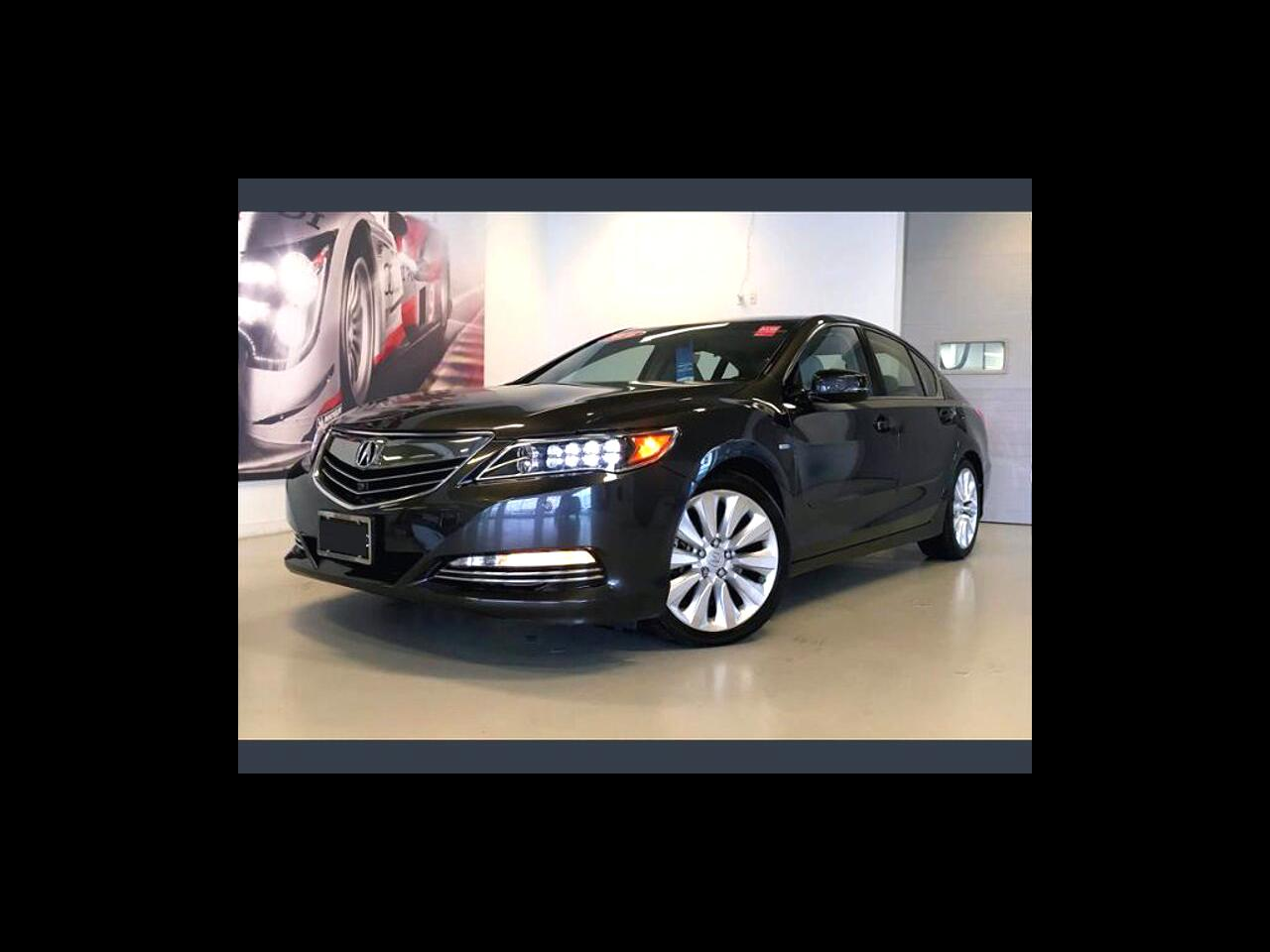 Acura RLX 4dr Sdn Hybrid Advance Pkg 2016