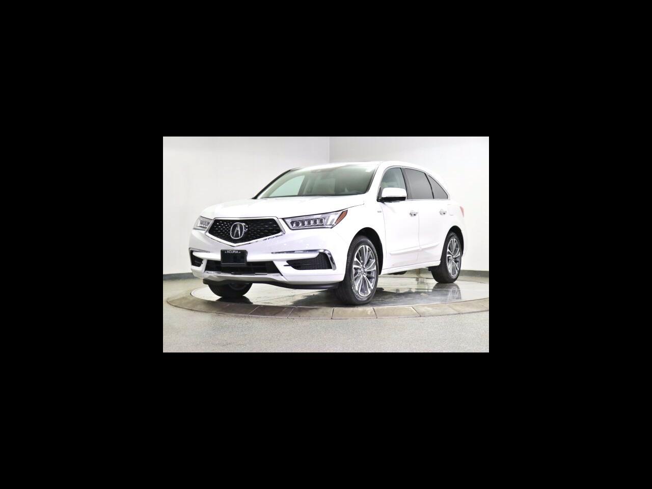 Acura MDX SH-AWD 7-Passenger Sport Hybrid w/Technology Pkg 2020