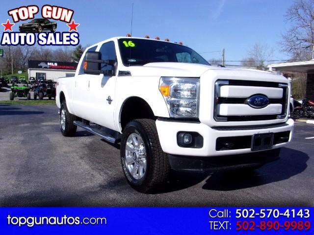 2016 Ford F-250 SD Lariat Crew Cab Long Bed 4WD