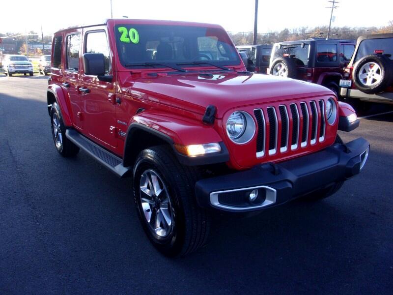 Jeep Wrangler Unlimited Sahara 4D SUV 4WD 2020