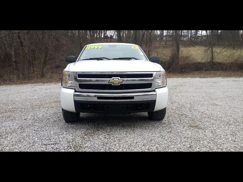 Chevrolet Silverado 1500 Work Truck Extended Cab 4WD 2010