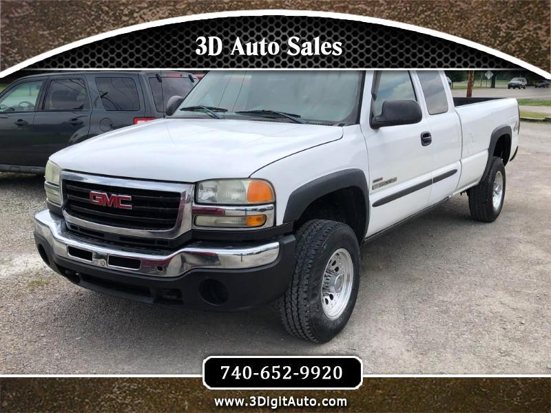 GMC Sierra 2500HD Work Truck Ext. Cab Long Bed 4WD 2005