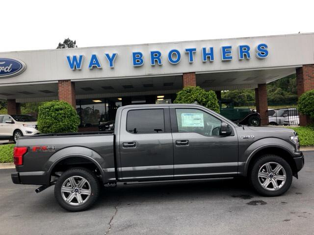 2018 Ford F-150 LARIAT 4WD SUPERCREW 5.5'