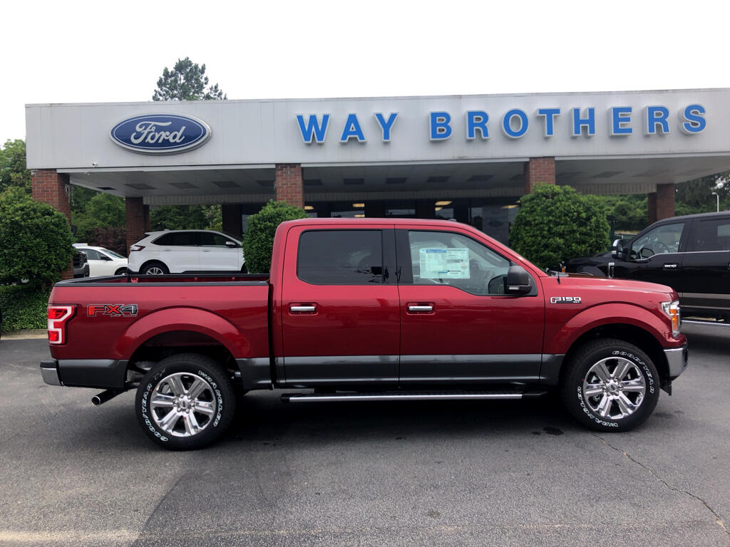 2018 Ford F-150 XLT 4WD SUPERCREW 5.5' BO