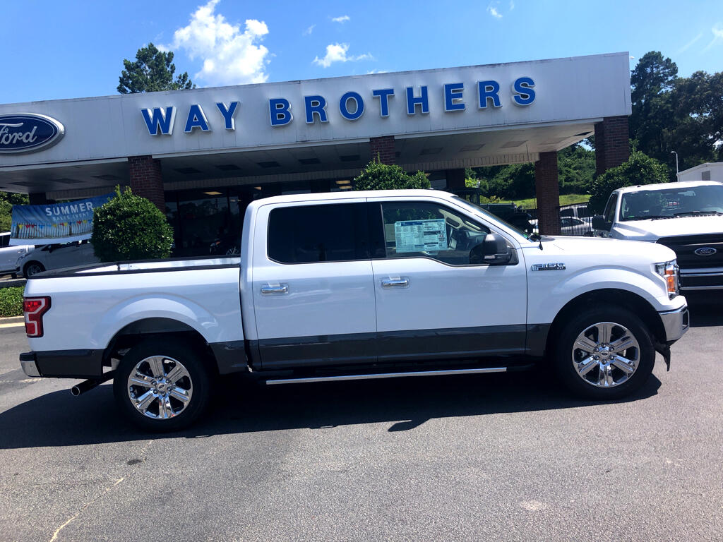 2018 Ford F-150 XLT 2WD SUPERCREW 5.5' BO