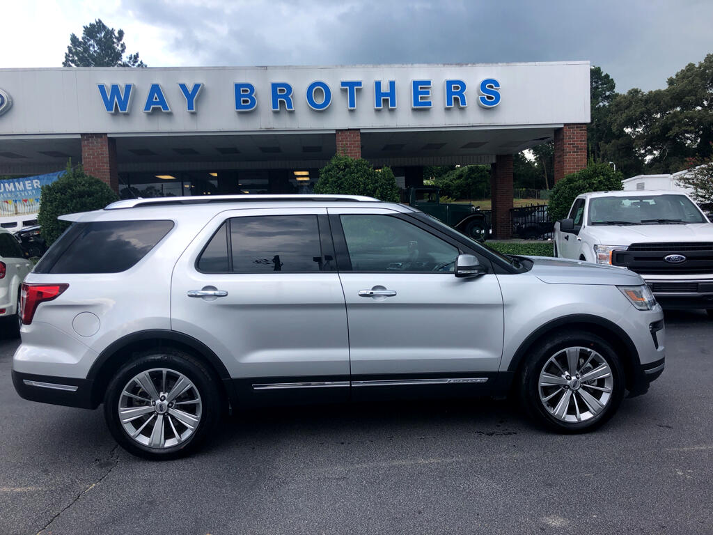 "2018 Ford Explorer 4dr 112"" WB Limited"