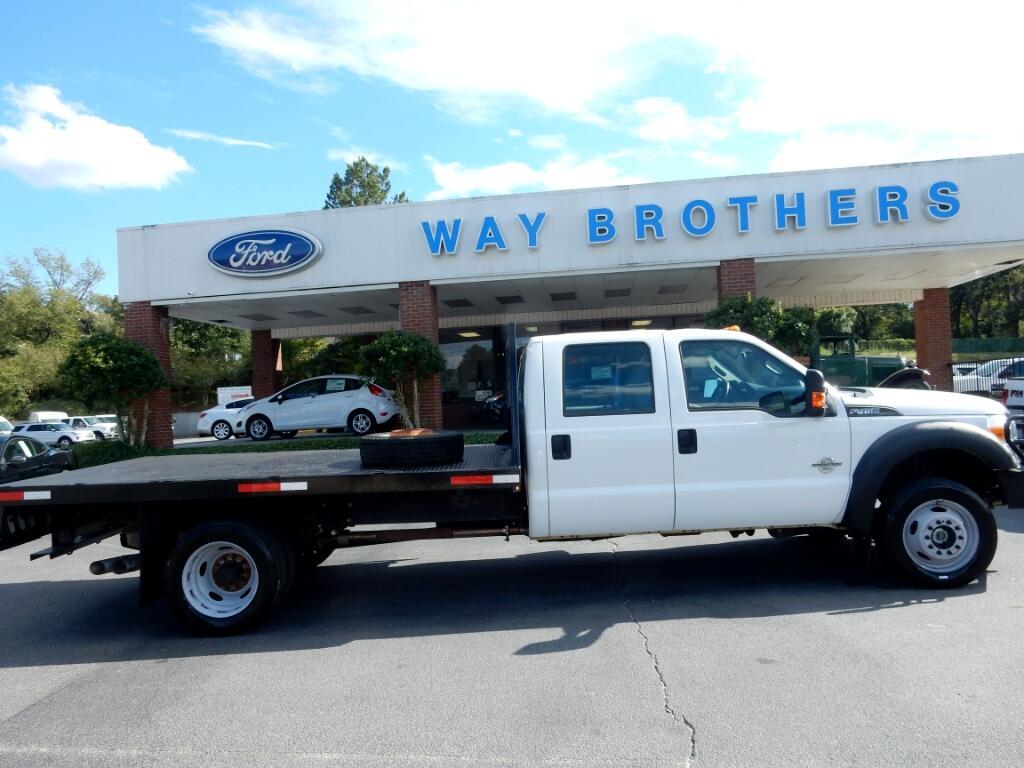 "2015 Ford F-450 SD 4WD Crew Cab 176"" WB 60"" CA Lariat"