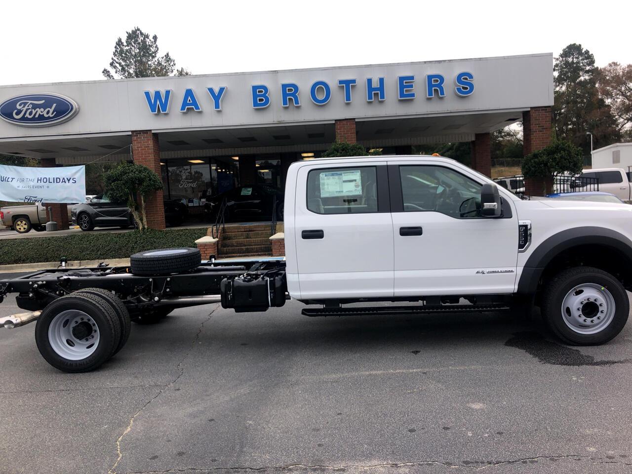 """2019 Ford F-550 XL 2WD CREW CAB 179"""" WB 6"""