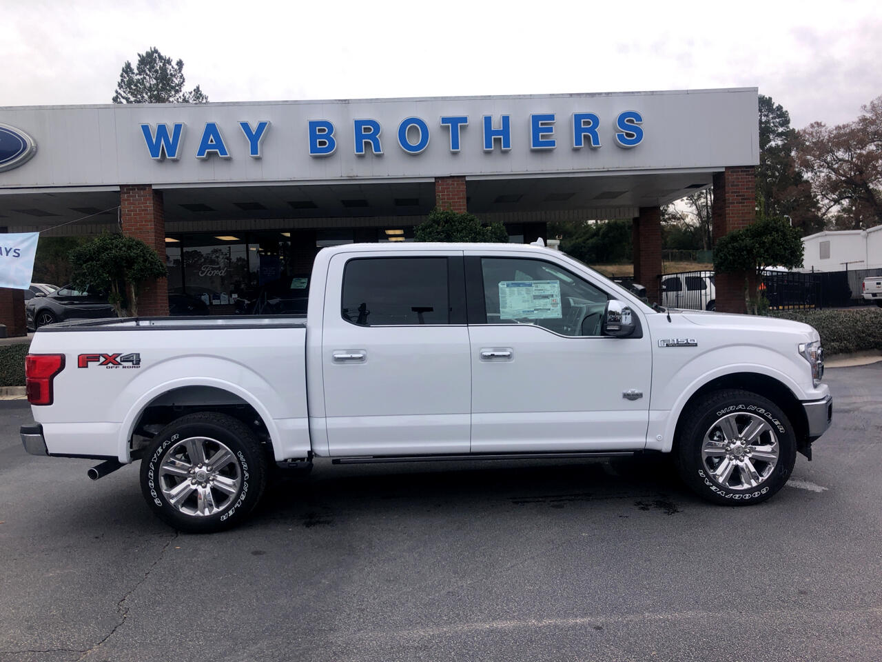 2019 Ford F-150 KING RANCH 4WD SUPERCREW