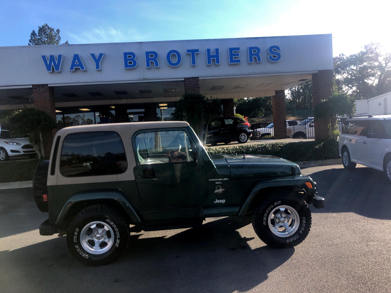 1999 Jeep Wrangler 2dr Sahara