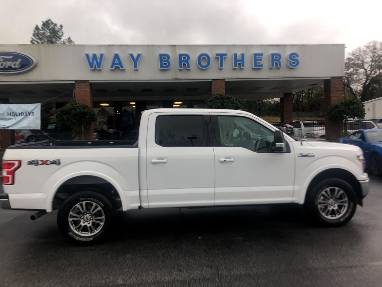 "Ford F-150 4WD SuperCrew 139"" Lariat 2018"