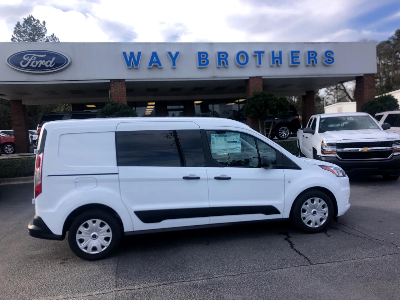 2019 Ford Transit Connect Van XLT LWB W/REAR SYMMETRICA