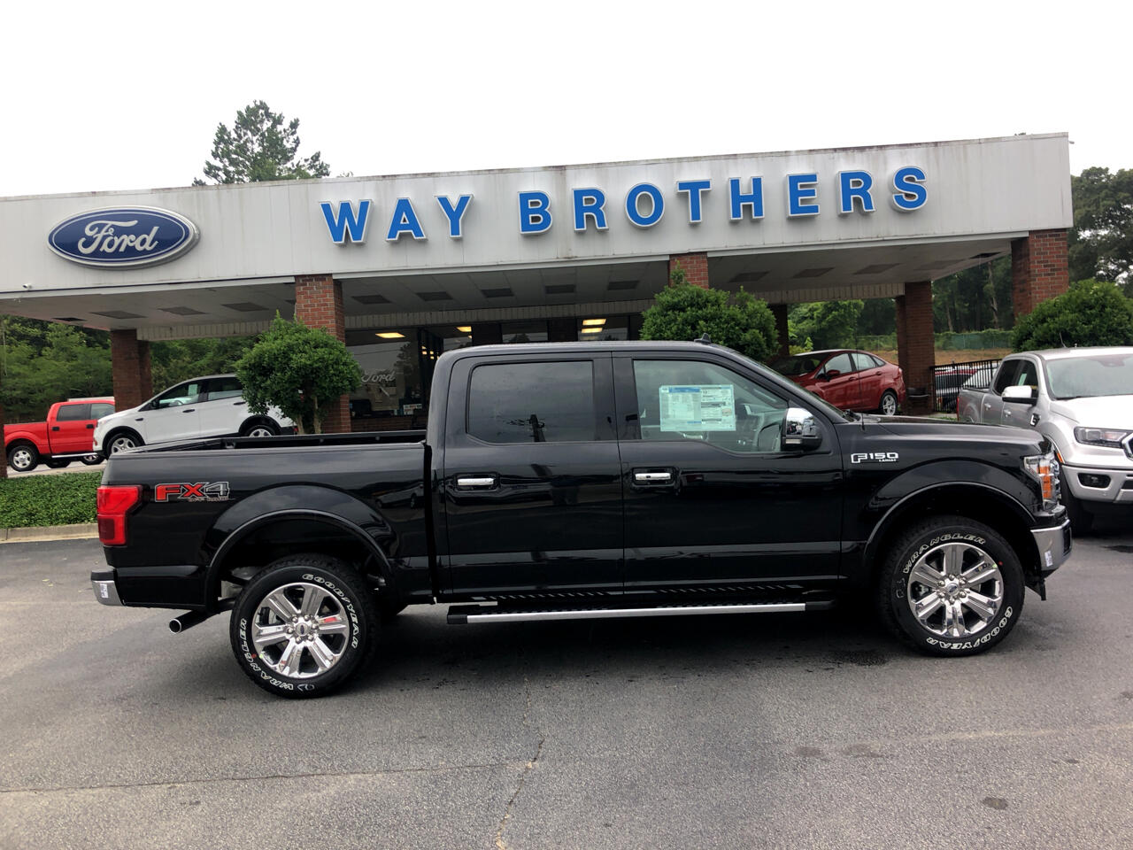 2019 Ford F-150 LARIAT 4WD SUPERCREW 6.5'