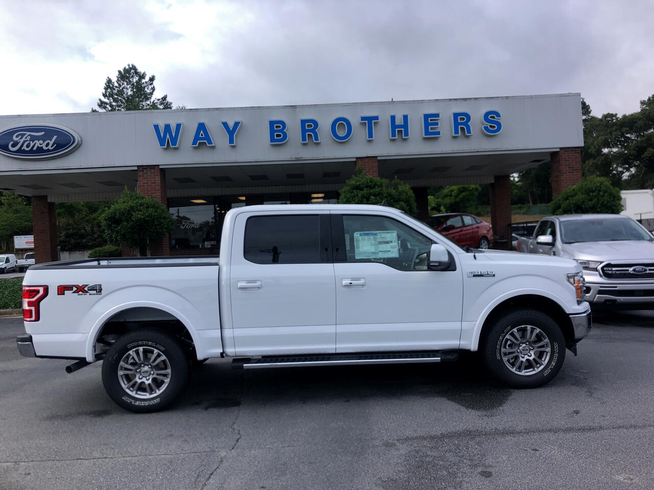 2019 Ford F-150 LARIAT 4WD SUPERCREW 5.5'