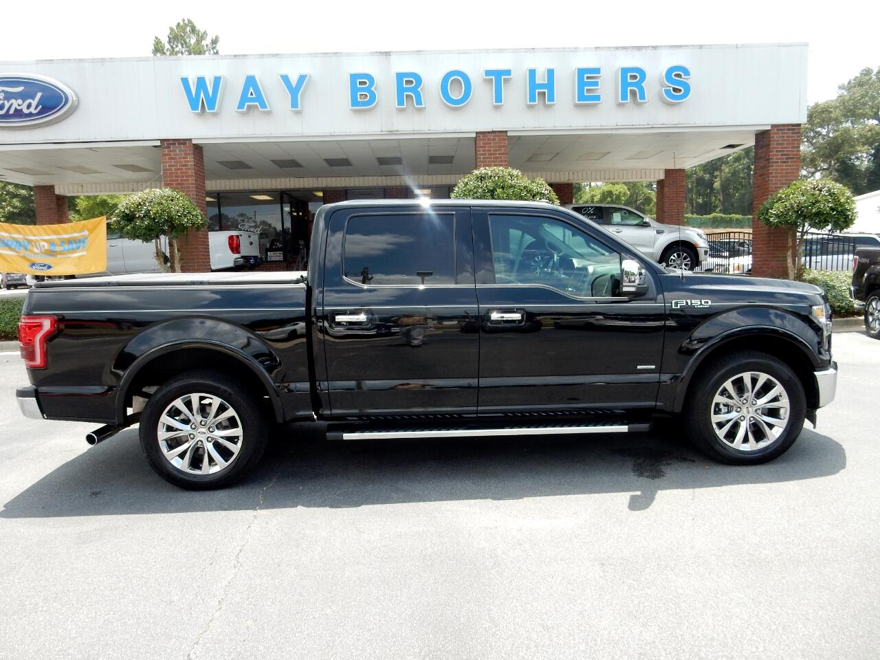 "2017 Ford F-150 2WD SuperCrew 145"" Lariat"