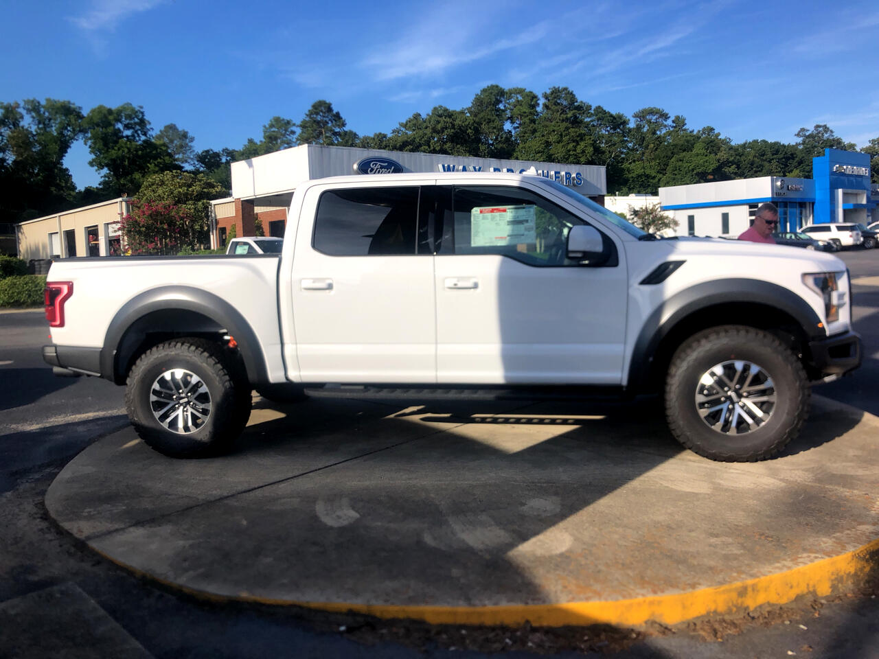 "Ford F-150 4WD SuperCrew 145"" SVT Raptor 2019"