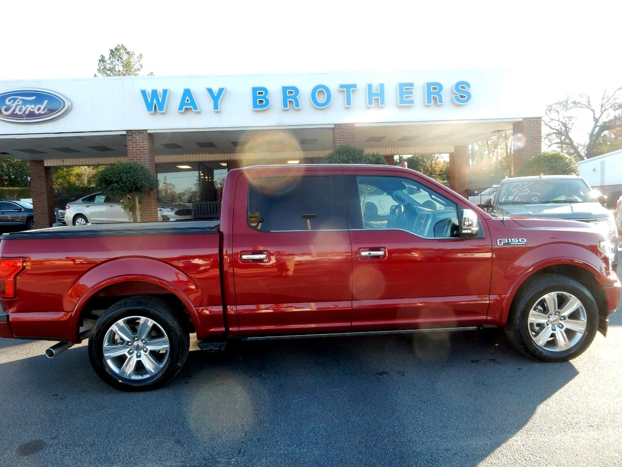 "Ford F-150 2WD SuperCrew 145"" Platinum 2018"