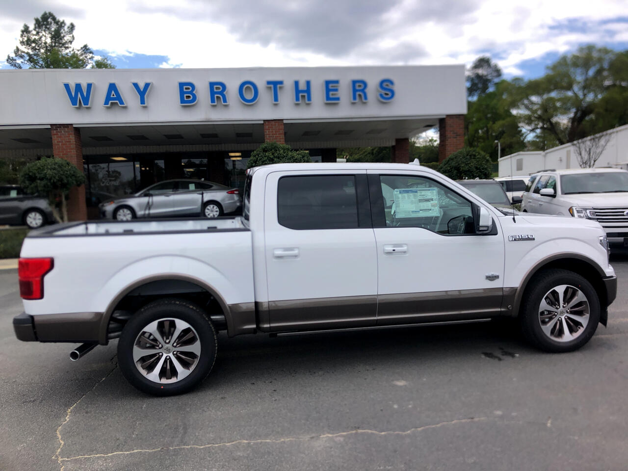"Ford F-150 4WD SuperCrew 139"" King Ranch 2020"