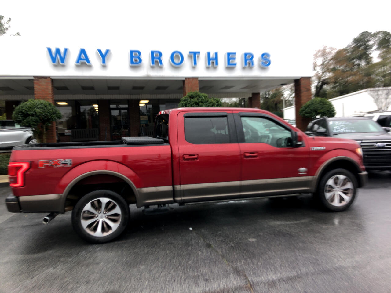 "Ford F-150 SuperCrew 150"" King Ranch 4WD 2016"