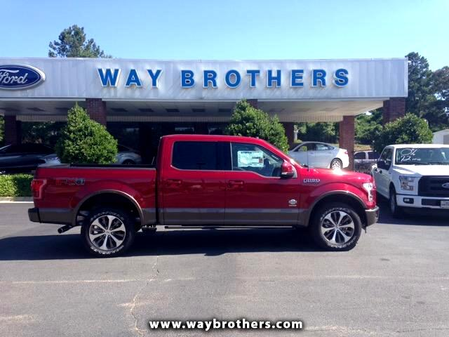 Ford F-150 King Ranch 4WD SuperCrew 5.5' Box 2016