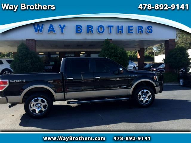 "2012 Ford F-150 4WD SuperCab 133"" Lariat"