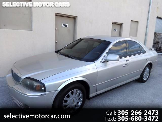 2004 Lincoln LS V6 Luxury
