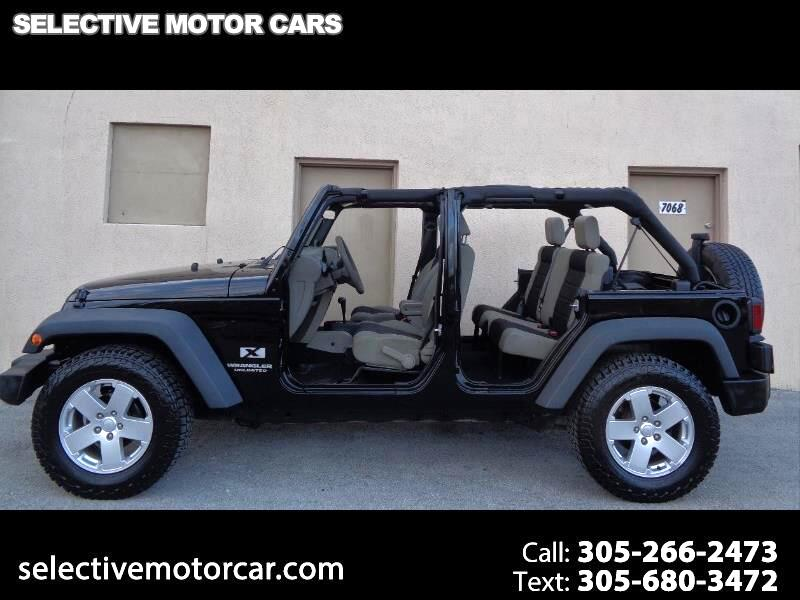 2007 Jeep Wrangler 2WD 4dr Unlimited X