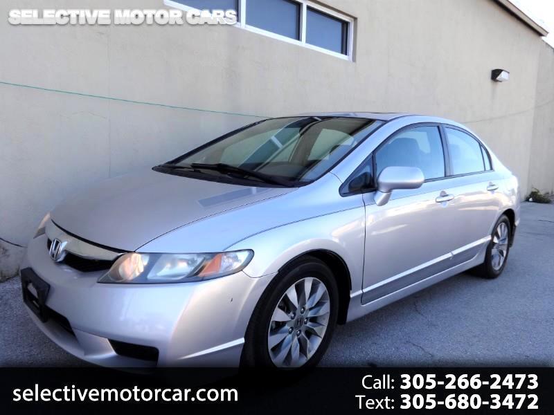 2010 Honda Civic Sdn 4dr Auto EX-L