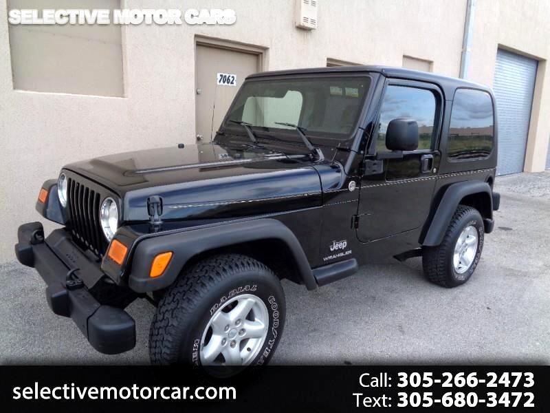 2005 Jeep Wrangler 2dr SE
