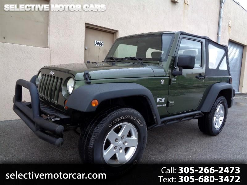 2008 Jeep Wrangler 4WD 2dr X