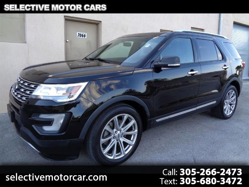 2016 Ford Explorer FWD 4dr Limited
