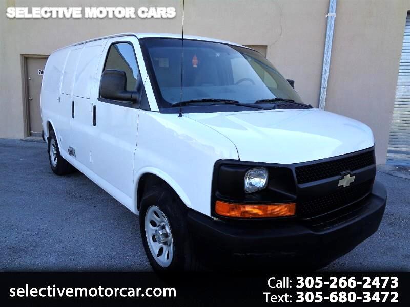 2012 Chevrolet Express Cargo Van RWD 1500