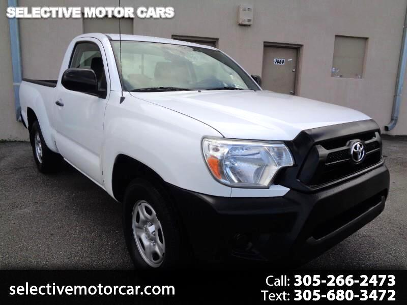 2012 Toyota Tacoma 2WD Reg Cab I4 AT (Natl)