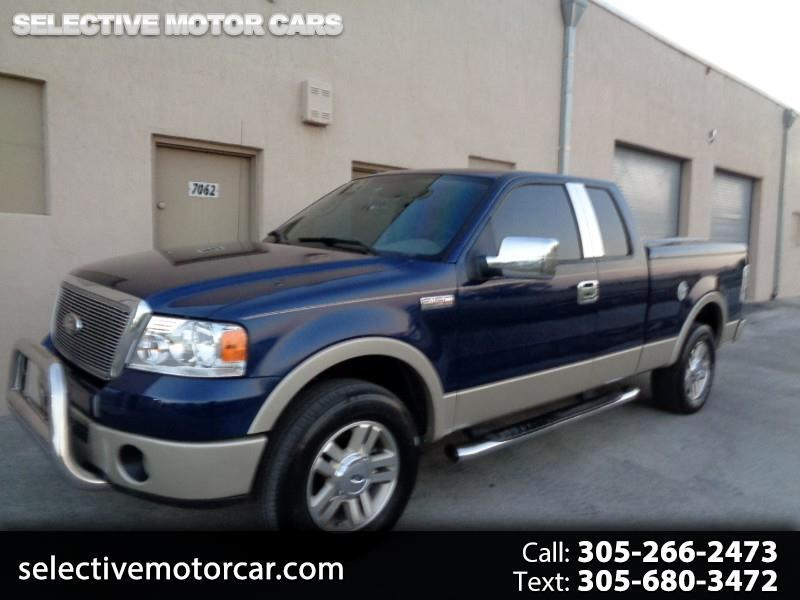 2007 Ford F-150 4WD SUPERCAB LARIAT