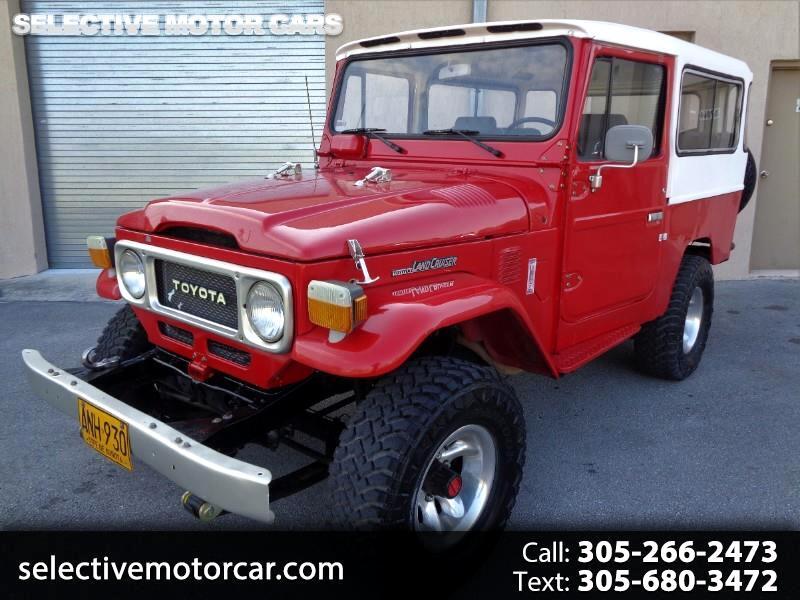 Toyota Land Cruiser 4WD 1982