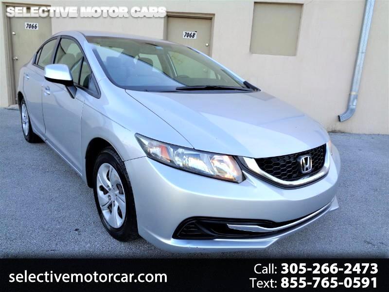 Honda Civic Sdn 4dr Auto LX 2013