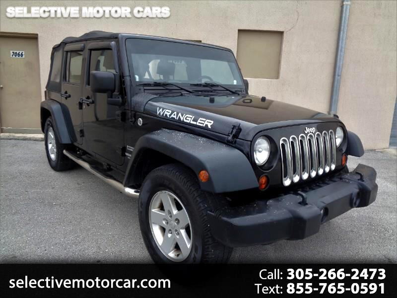Jeep Wrangler Unlimited RWD 4dr Sport 2010