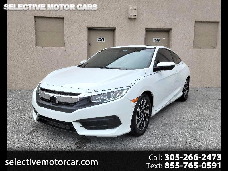 Honda Civic Coupe LX-P CVT 2017
