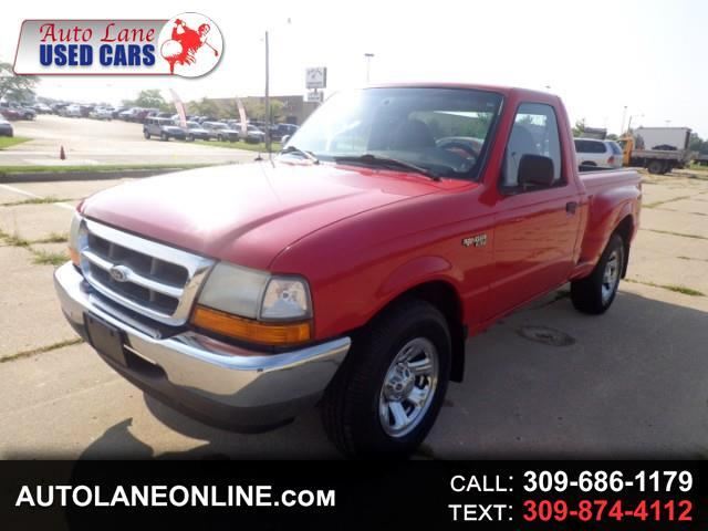 buy here pay here 2000 ford ranger xl short bed 2wd for sale in peoria il 61604 auto lane. Black Bedroom Furniture Sets. Home Design Ideas