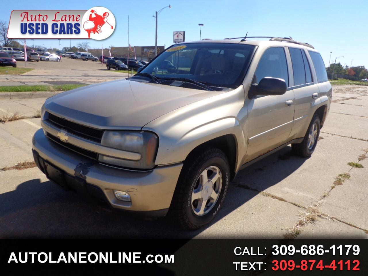 buy here pay here 2005 chevrolet trailblazer 4dr 4wd lt for sale in peoria il 61604 auto lane. Black Bedroom Furniture Sets. Home Design Ideas
