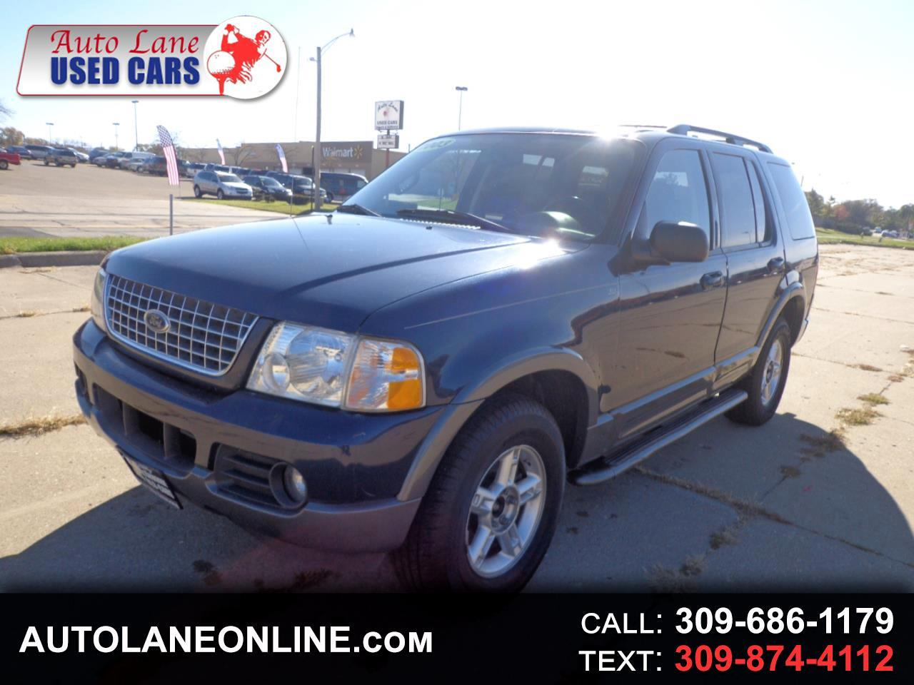 buy here pay here 2003 ford explorer 4dr 114 wb 4 0l xlt sport 4wd for sale in peoria il 61604. Black Bedroom Furniture Sets. Home Design Ideas