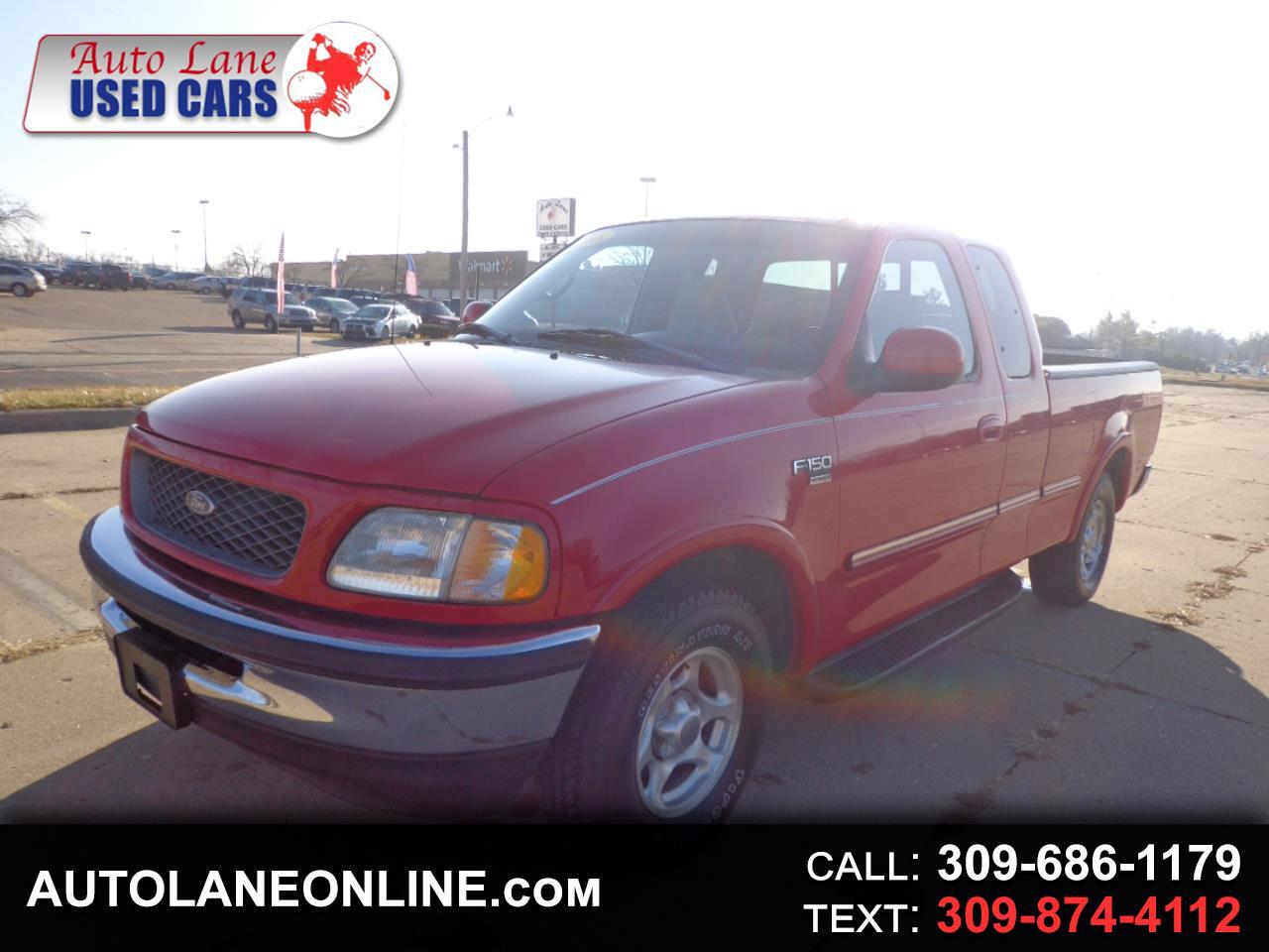"1998 Ford F-150 Supercab 139"" Lariat"
