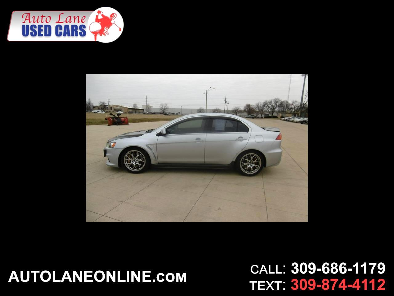 2008 Mitsubishi Lancer 4dr Sdn Man Evolution MR