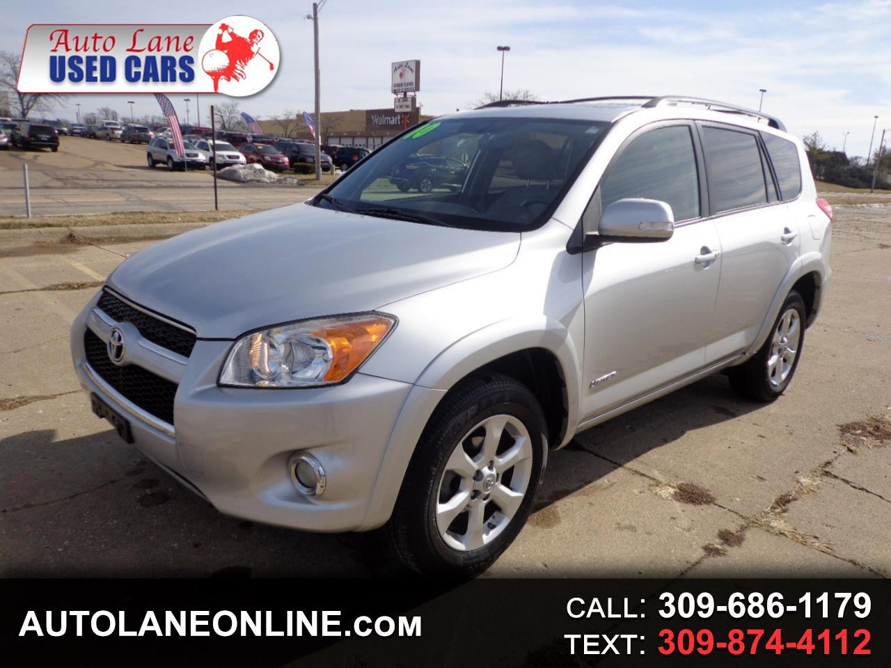 2010 Toyota RAV4 4WD 4dr 4-cyl 4-Spd AT Ltd (Natl)
