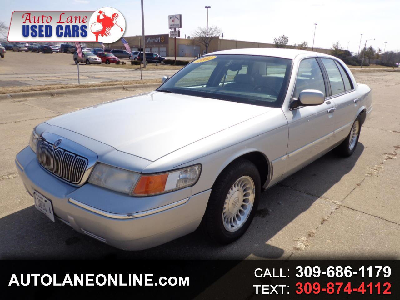 2002 Mercury Grand Marquis 4dr Sdn LS Ultimate