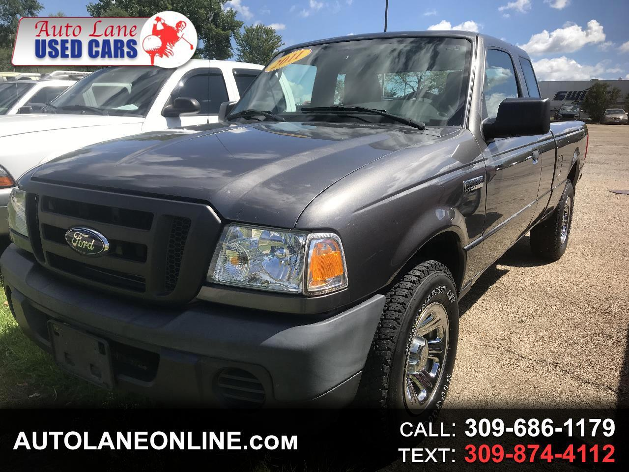 "2011 Ford Ranger 4WD 2dr SuperCab 126"" XL"